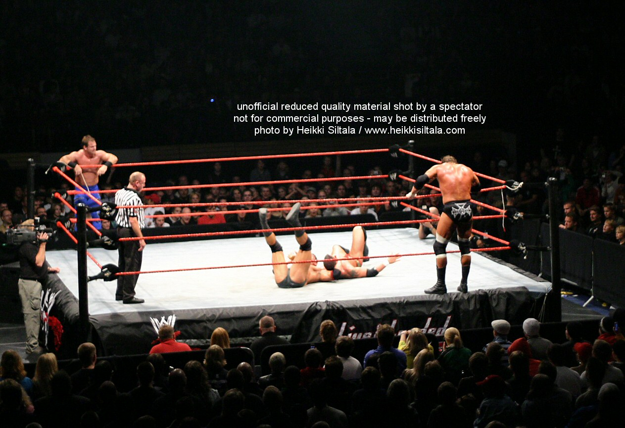 Batista & Triple H vs Chris Benoit & Randy Orton